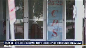 Children sleeping in CPS offices prohibited under new law