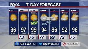 June 18, 2021 morning forecast