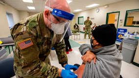 Mass COVID-19 vaccination sites supported by DOD pared down to 5
