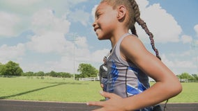 DeSoto 6-year-old making waves as a runner, heading to national championships