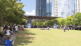 Klyde Warren Park hosts Independence Day event Saturday, along with fireworks