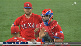 Gibson, Rangers end 9-game skid in 5-4 win over AL-best Rays