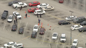 Three people in custody, no injuries after shootout in Mesquite's Town East Mall parking lot