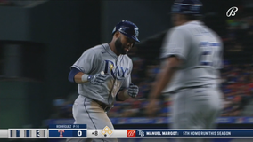 41-year-old Hill gets Rays started in 3-0 shutout of Texas