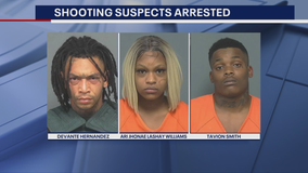 Police identify 3 arrested after shootout in Mesquite's Town East Mall parking lot