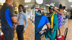 Waffle House crew helps get co-worker to high school graduation