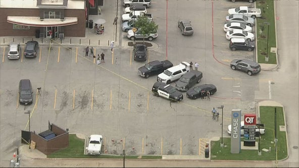 Officers shoot armed stabbing suspect outside Forest Hill gas station