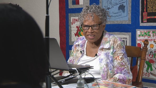 94-year-old Opal Lee continues her quest to make Juneteenth a national holiday