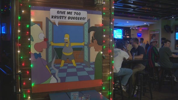 Simpsons-themed pop-up bars debut in Dallas