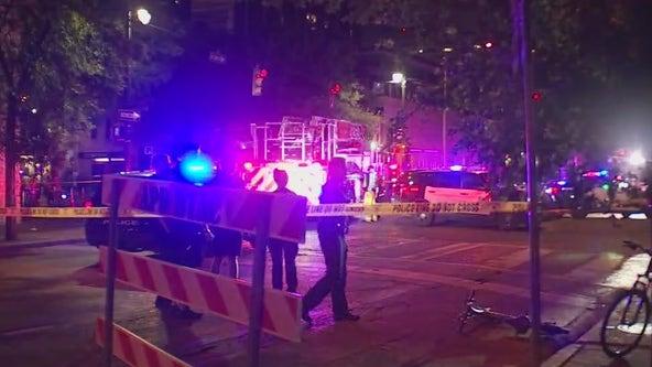 Downtown Austin shooting leaves 14 injured, 1 suspect in custody