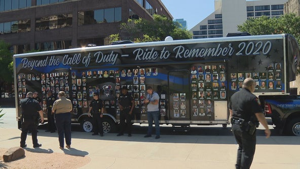 End of Watch ride passes through Tarrant County to honor three fallen sheriff's department members