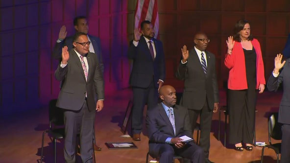 4 new Dallas City Council members sworn in as mayor hopes to address ongoing challenges