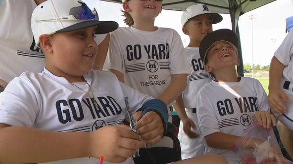 Youth baseball team rallies around player injured during Dallas flood