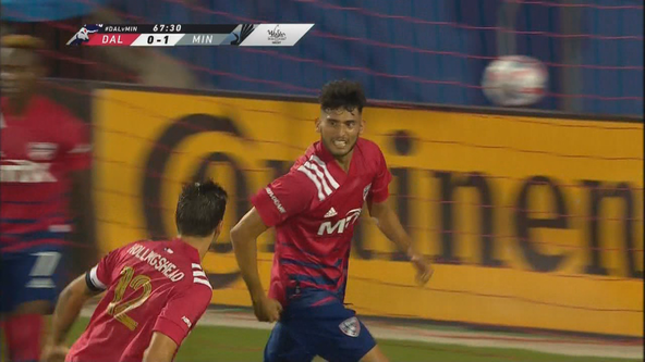 Pepi's 2nd-half goal lifts FC Dallas to 1-1 draw with Loons