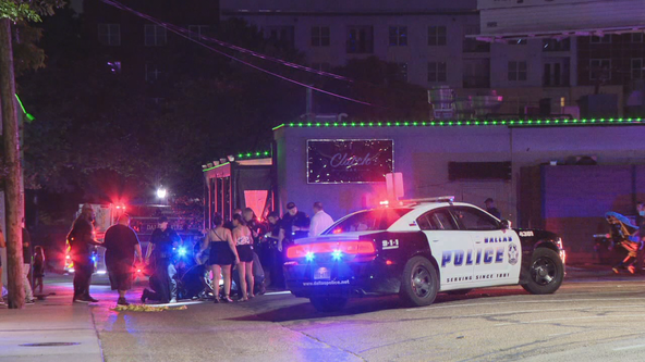 Two people shot outside Uptown Dallas bar early Friday
