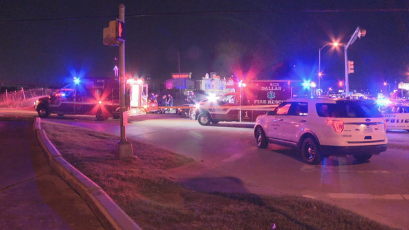 1 dead, 1 hospitalized after being shot while driving in Northwest Dallas