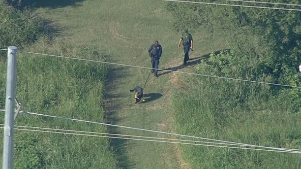 Euless capital murder suspect arrested after manhunt in the woods