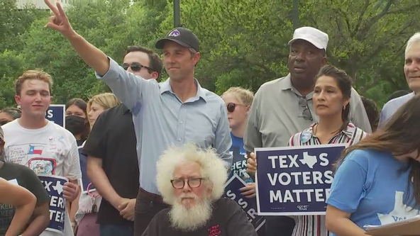 Beto O'Rourke holds voting rights rally at Texas capitol