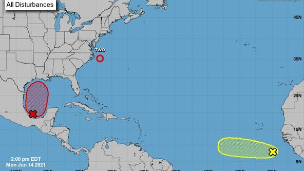 Disturbance in the Gulf has 70% formation chance