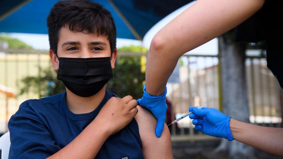 Teen vaccine COVID-19