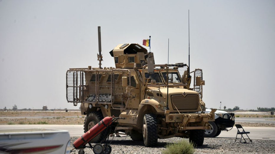 US armored truck