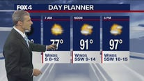 July 23 evening forecast