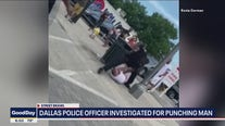 Dallas police officer investigated for punching man