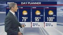 July 26 overnight forecast