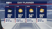 July 29 overnight forecast