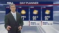 July 23 overnight forecast