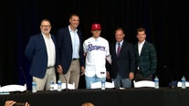 Rangers sign No. 2 overall pick Leiter with $7.9M bonus