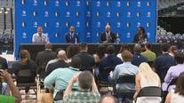 Dallas Mavericks introduce new general manager, Nico Harrison, and head coach, Jason Kidd