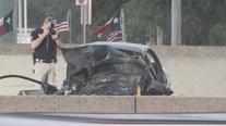 Portion of I-35 shut down for hours after fatal crash in Lewisville