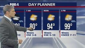 July 27 evening forecast