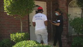 Dallas County hosting pop-up COVID-19 vaccine sites, going door-to-door to get more people vaccinated