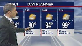 July 28 overnight forecast