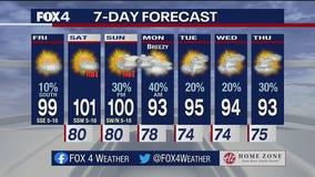 July 30 morning forecast