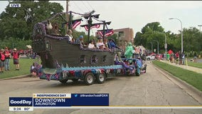 Arlington holds its annual Independence Day parade