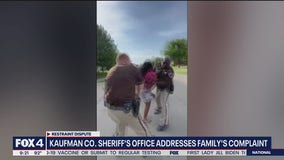 Kaufman County Sheriff's Office addresses complaint of excessive force