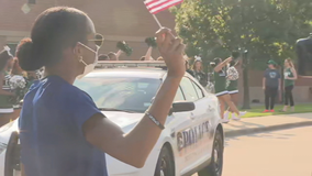 Jasmine Moore given special sendoff in Mansfield before heading to Tokyo Olympics