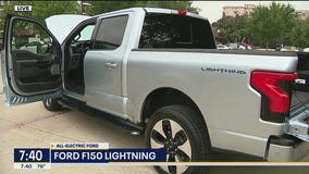 A look at Ford's all-electric F150 Lightning