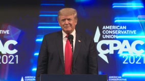 Former President Donald Trump wraps up Conservative Political Action Conference in Dallas Sunday