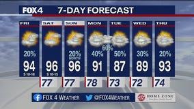 July 16 morning forecast