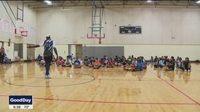 Grand Prairie police connect with youth through free sports camp