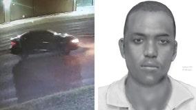 Haltom City police release sketch of suspect, vehicle of interest in recent rape case