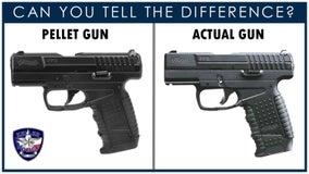 Keller police warning about kids using pellet guns in public