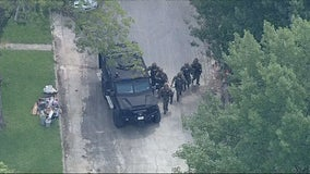 Police chase ends with SWAT standoff in Lake Worth neighborhood