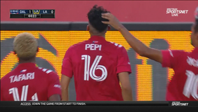 Pepi notches hat trick, FC Dallas blanks Galaxy 4-0