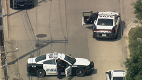 Dallas PD officer dragged by fleeing vehicle during traffic stop