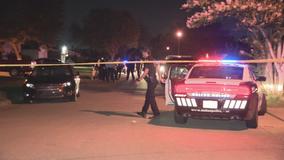 2 men arrested for Dallas shooting that left 1 dead, 1 injured